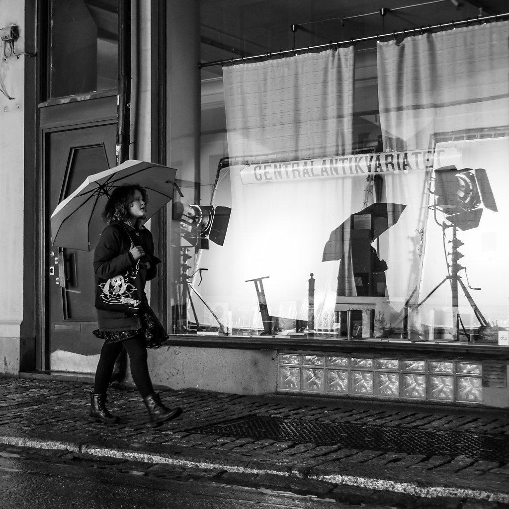Umbrella 2, Drottninggatan, Stockholm