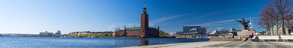 Riddarfjärden and Stockholm city hall