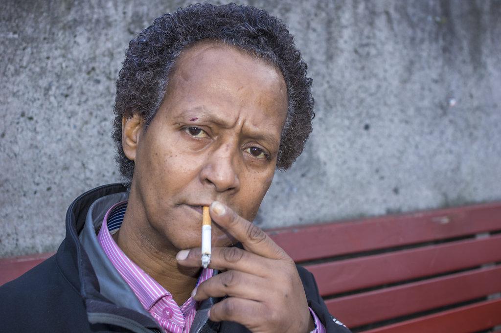 Portrait, Sergels Torg, Stockholm
