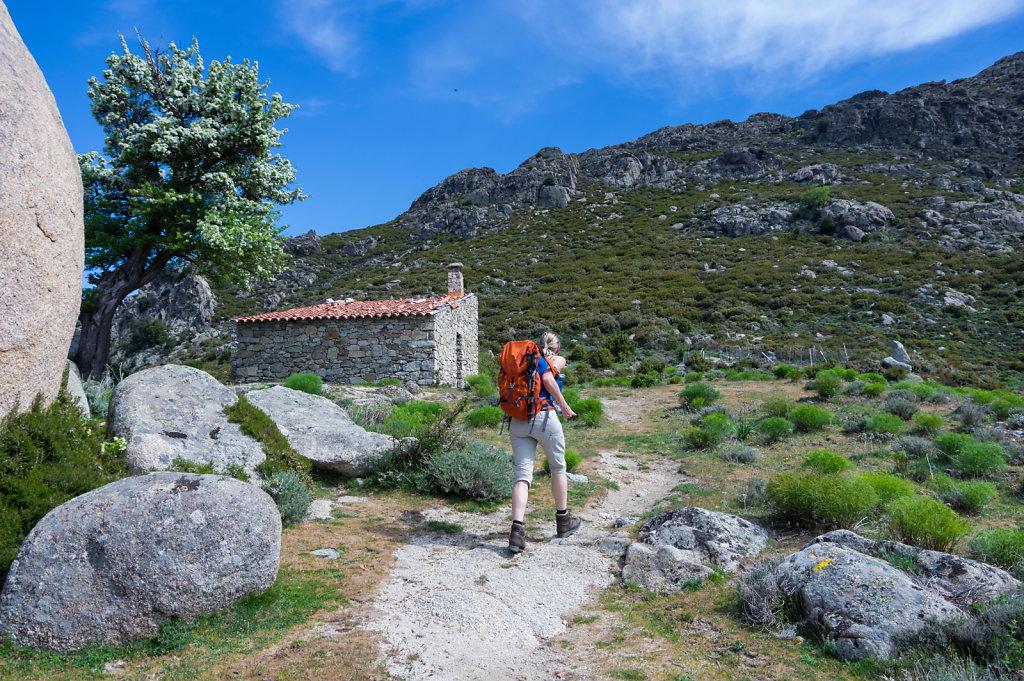 Refuge on Monte Astu