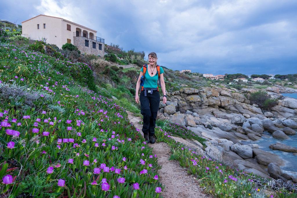 Walk to Calvi Lighthouse