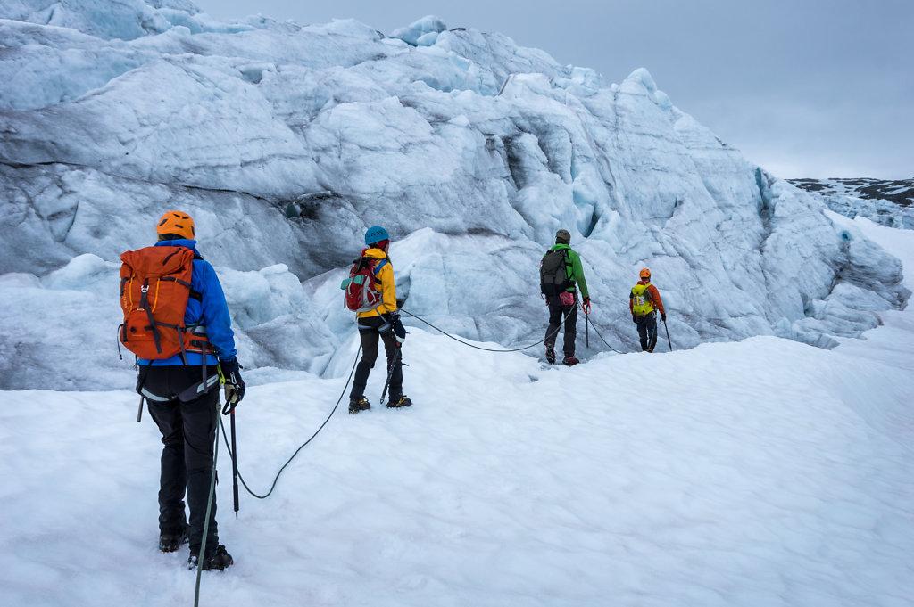 2015 Glacier training in Norway