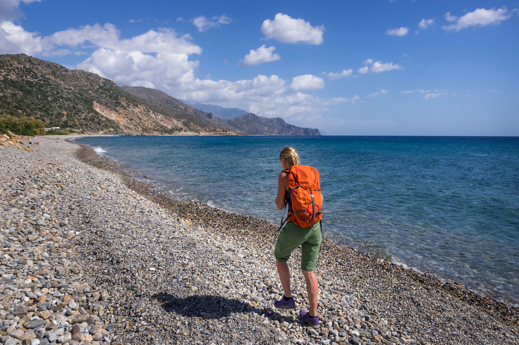 Strandvandring Paleochora