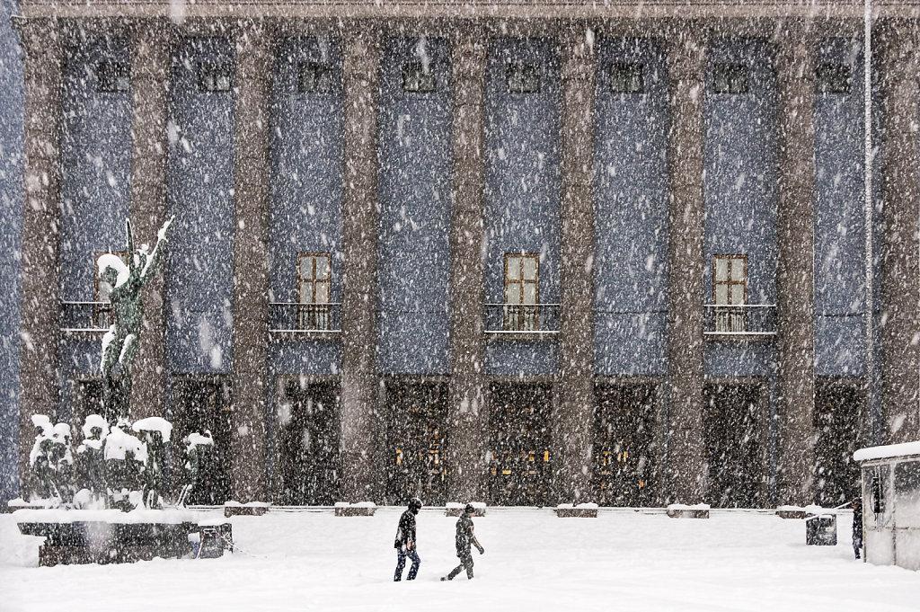 2016 Stockholm in snow