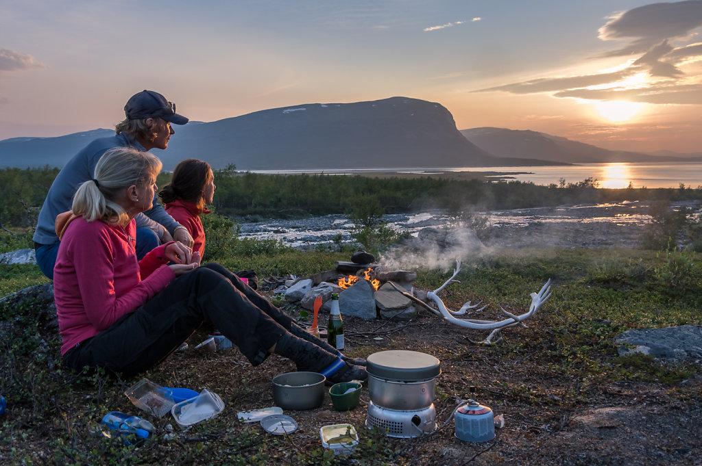 Base camp Ahkka, Sweden