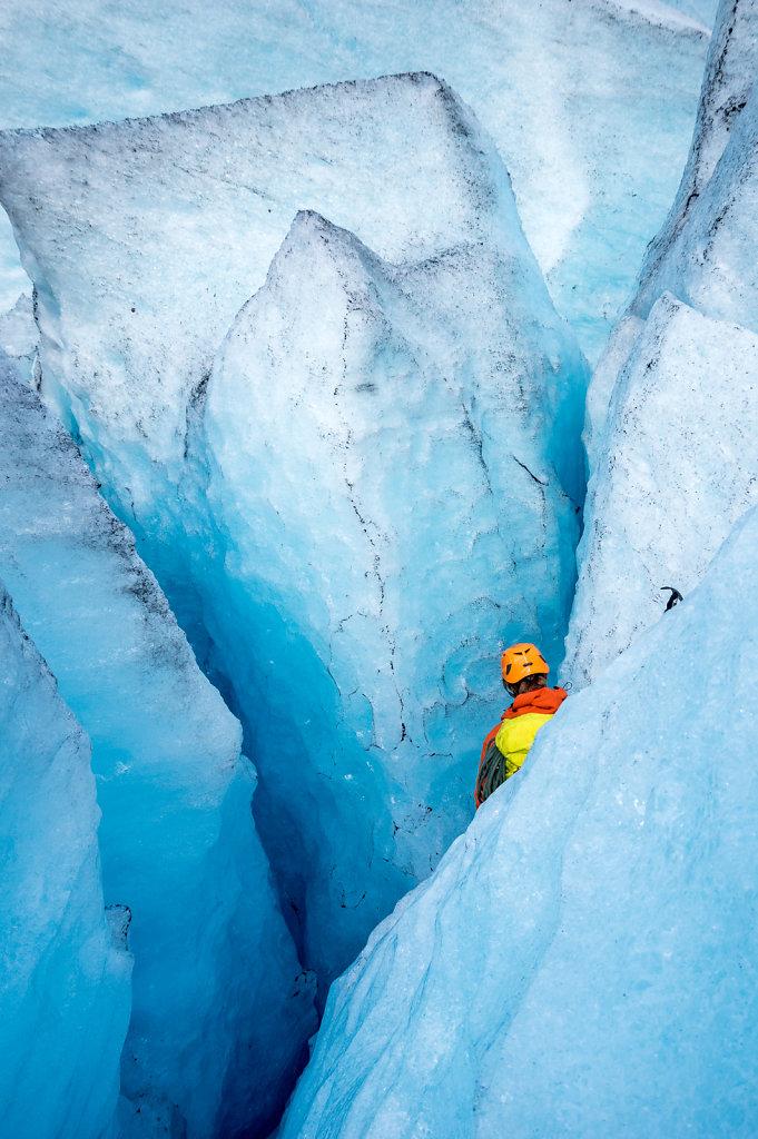 Glacier Blues, Nigardsbreen, Norway