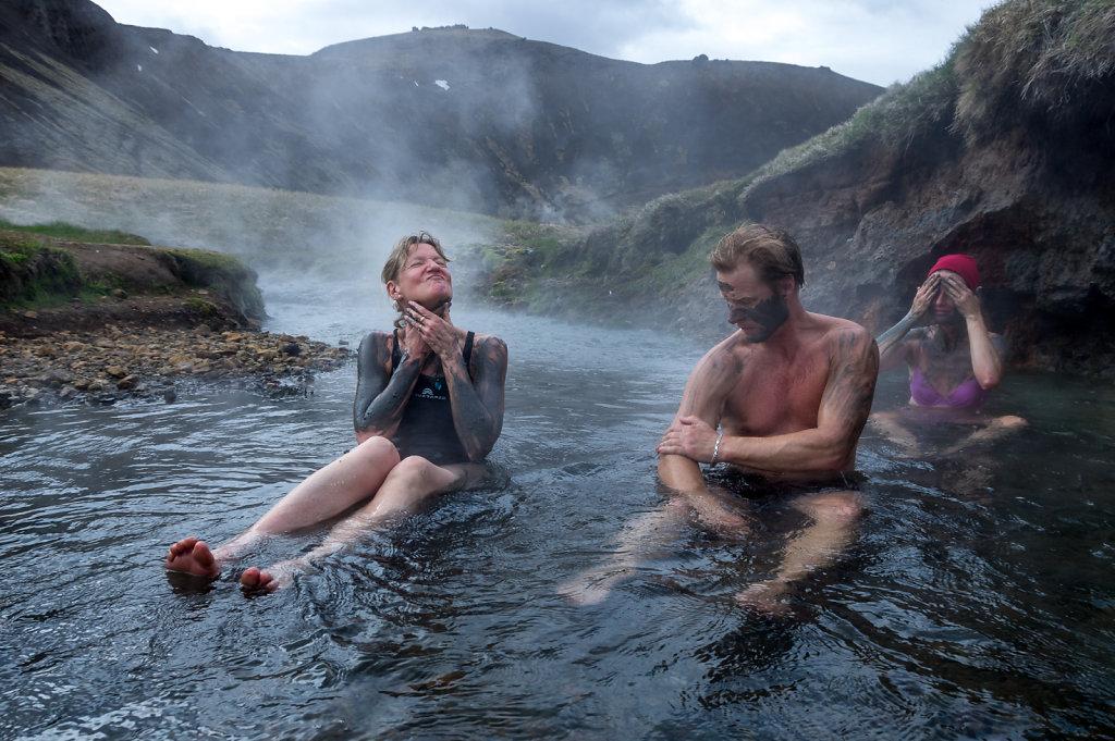 Adventurers reward, Reykjadalur, Iceland